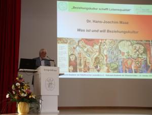 1. Stiftungstag 24-10-2015 Dr. Hans-Joachim Maaz Eröffnungsvortrag