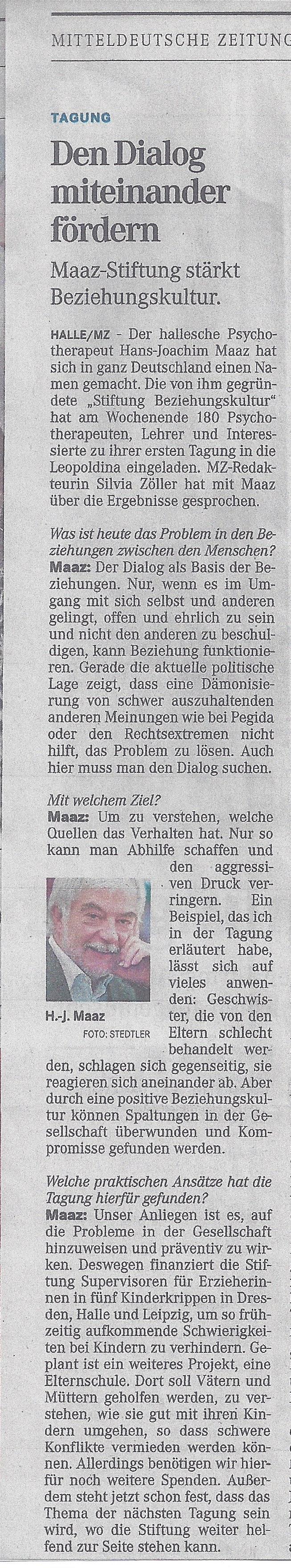 Mitteldeutsche zeitung sie sucht ihn